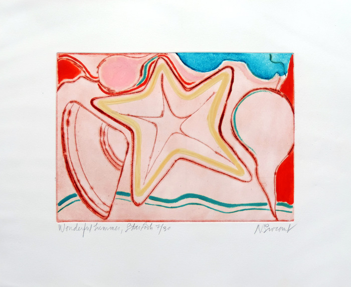 Print of Wonderful Summer/Starfish