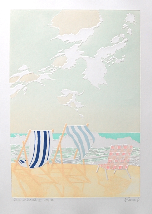 Print of Summer Seaside II