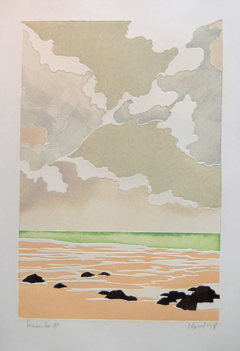 Print of Summer Sea