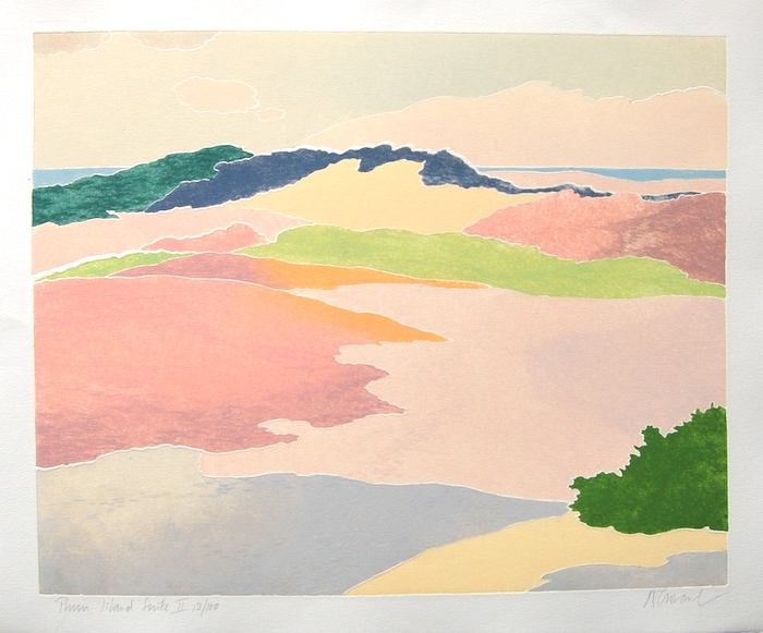 Print of Plum Island II