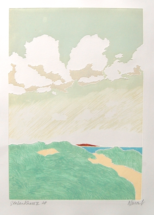 Print of Sealand Grass II