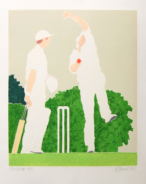Print of Cricket I