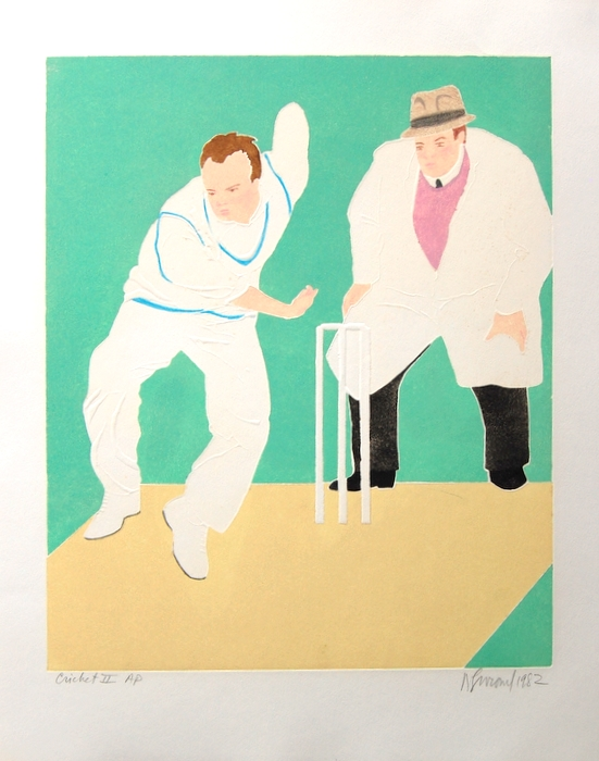 Print of Cricket II