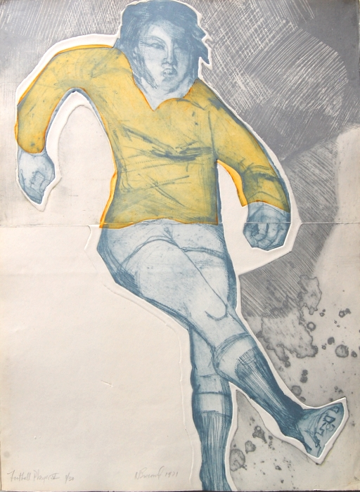 Print of Football Player V