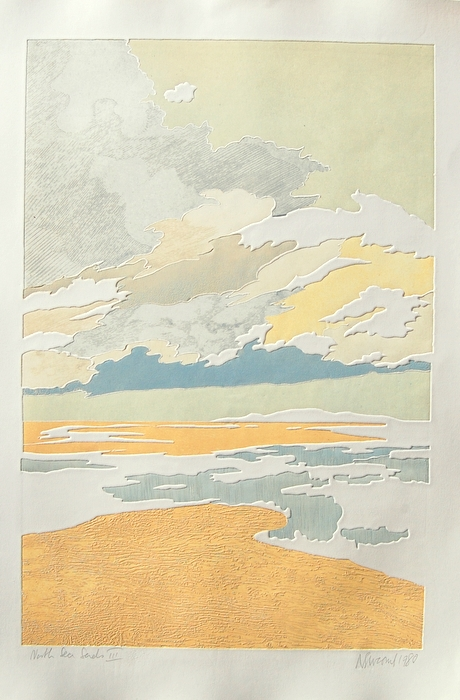 Print of North Sea Sands III