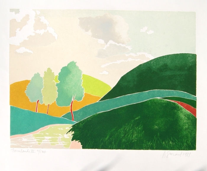Print of Farmlands III